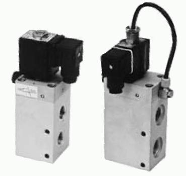 3/2 elektricky a pneumaticky ovládané