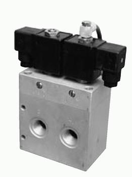 5/2, 5/3 elektricky a 5/3 pneumaticky ovládané
