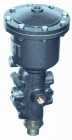 Piston actuated valves