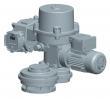 Electric multi-turn actuator MOR 3.5PA-Ex
