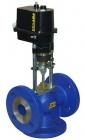 Dvojcestné regulačné ventily RV 113 R a trojcestné RV 113 M
