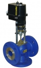 Two-way and three-way control valves RV 102 and RV 103