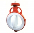 PTFE lined butterfly valves series 500