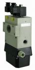 Zdvojené trojcestné ventily elektricky nepriamo ovládané