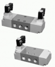 5/2, 5/3 elektricky a 5/2 pneumaticky ovládané DN10