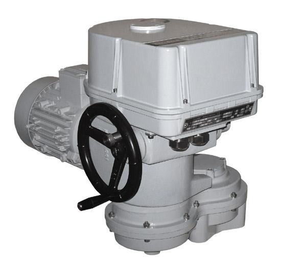 Electric multi-turn actuator MO 3.4
