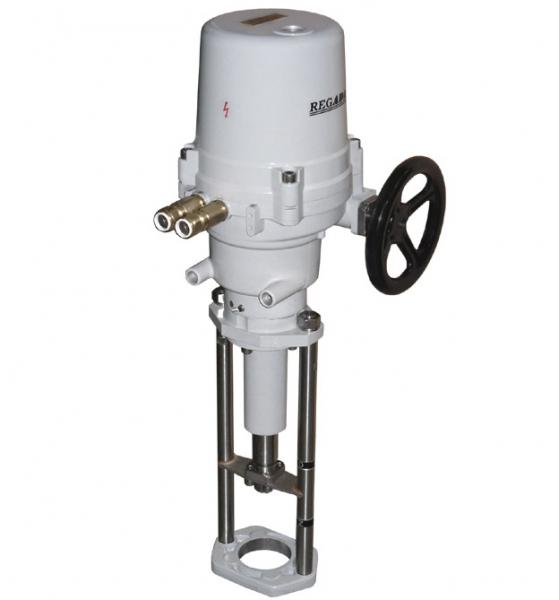 Nevýbušný elektrický servopohon priamočiary UL 2-Ex