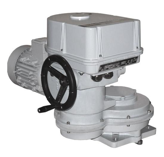 Electric multi-turn actuator MOR 3.5