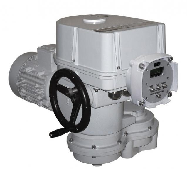 Electric multi-turn actuator MOR 3.4PA