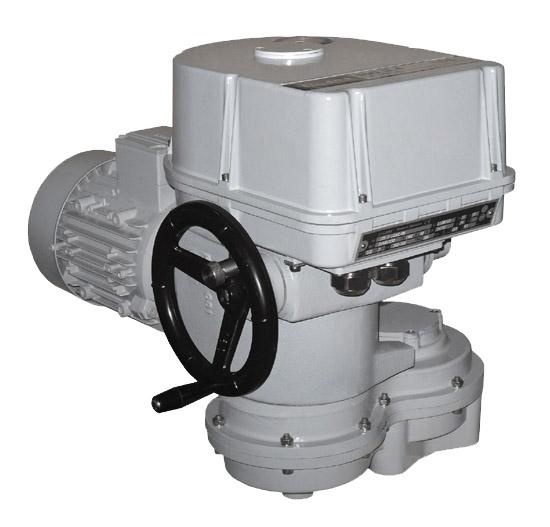Electric multi-turn actuator MOR 3.4