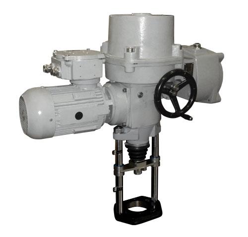 Nevýbušný elektrický servopohon priamočiary MT 3-Ex